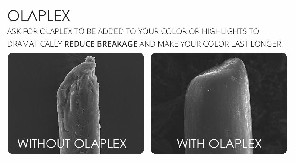 olapex hair strand