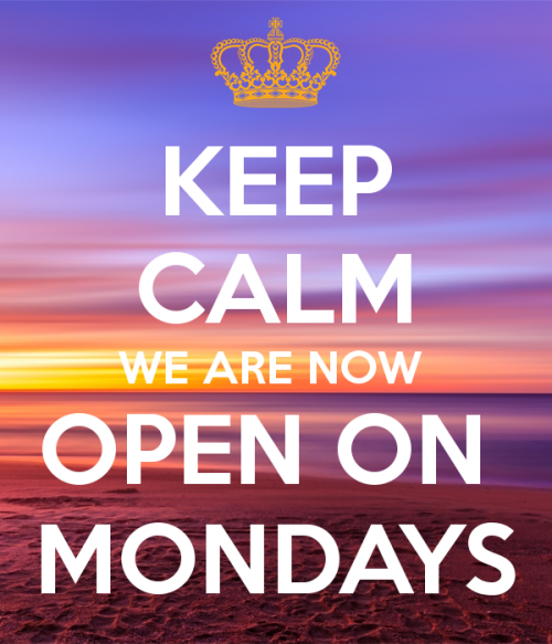Keep Calm We Are Now Open On Mondays 2 Limelight Hairdressing